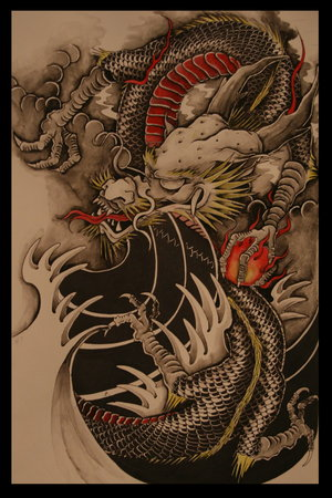 japanese dragons tattoos. japanese dragon tattoo designs