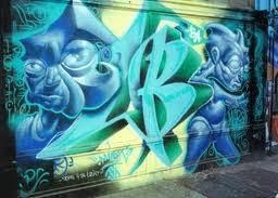 Alphabet Graffiti Bubble Letters