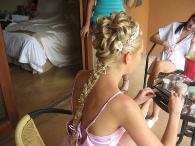 simple bridesmaid hairstyles. ridesmaid hairstyles.