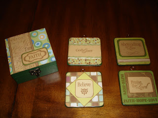 Mod Podge Altered Coasters, Altered Coasters, Mod Podge Coasters