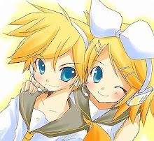 los hermanos Rin y Len