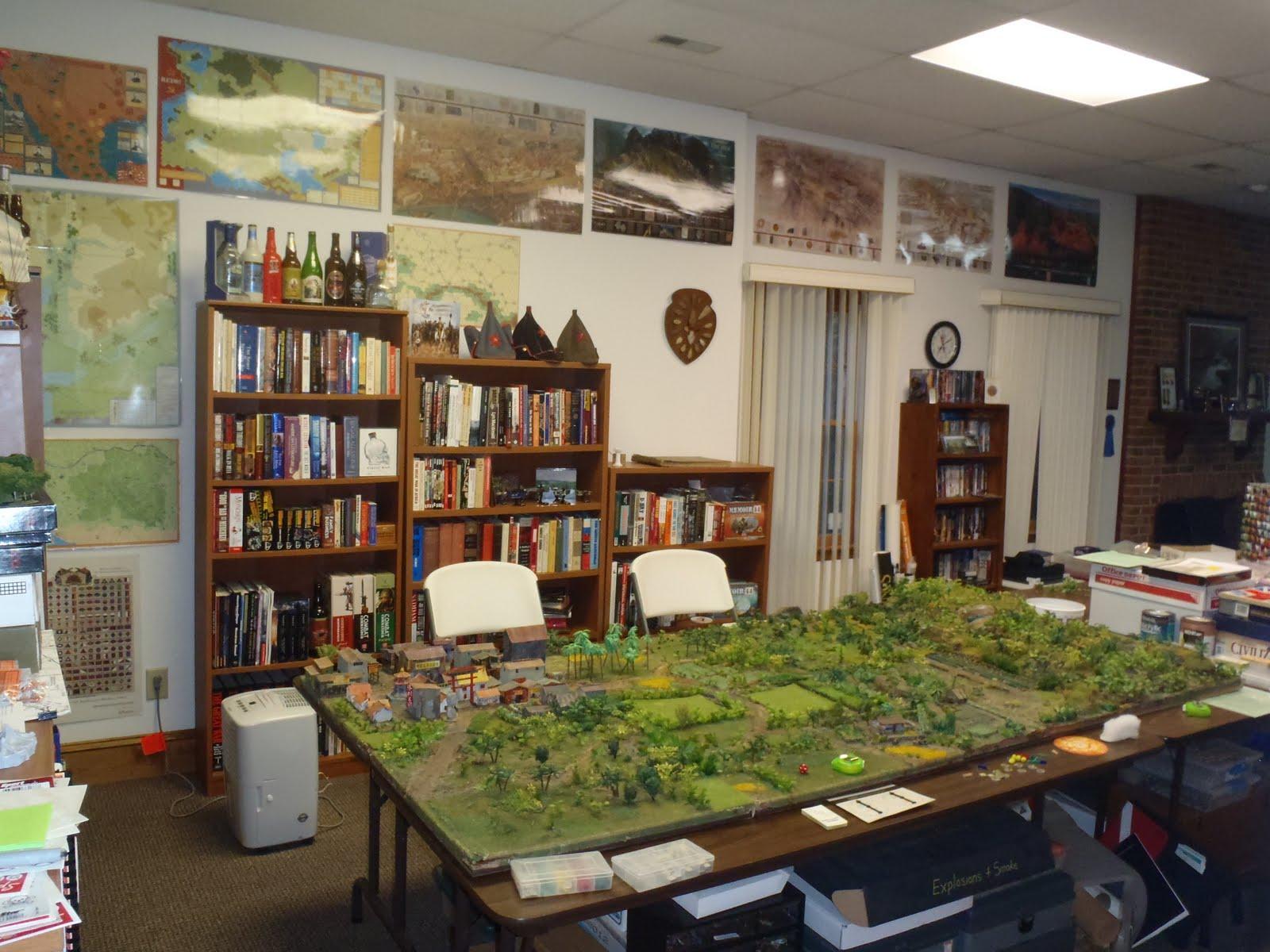 Wargame Bayou An Awesome War Room