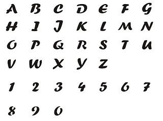Siri\'s Bastelwelt: 295646 Stanzerzange Alphabet & Zahlen