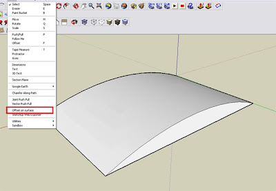 Sketchup Plugins Extruding And Offsettin Curved Faces Cad And