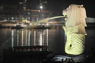 Merlion Singapore Lightning Picture on Singapore S National Chart  Several Significators Are Immediately