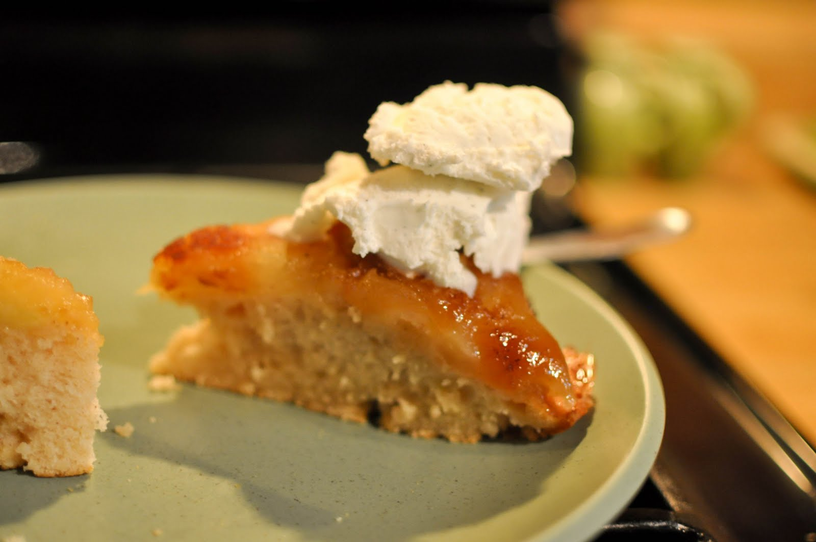 Bless This Food: Apple Cake in an Iron Skillet