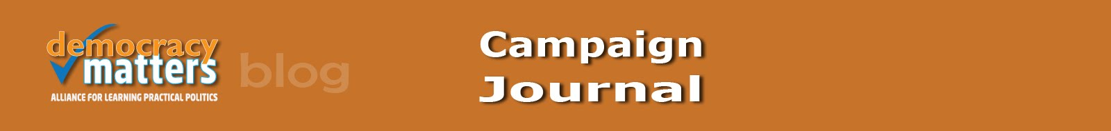 Democracy Matters - Campaign Journal