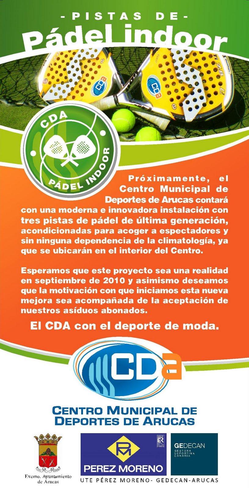 Centro municipal de deportes de arucas septiembre 2010 for Gran canaria padel indoor