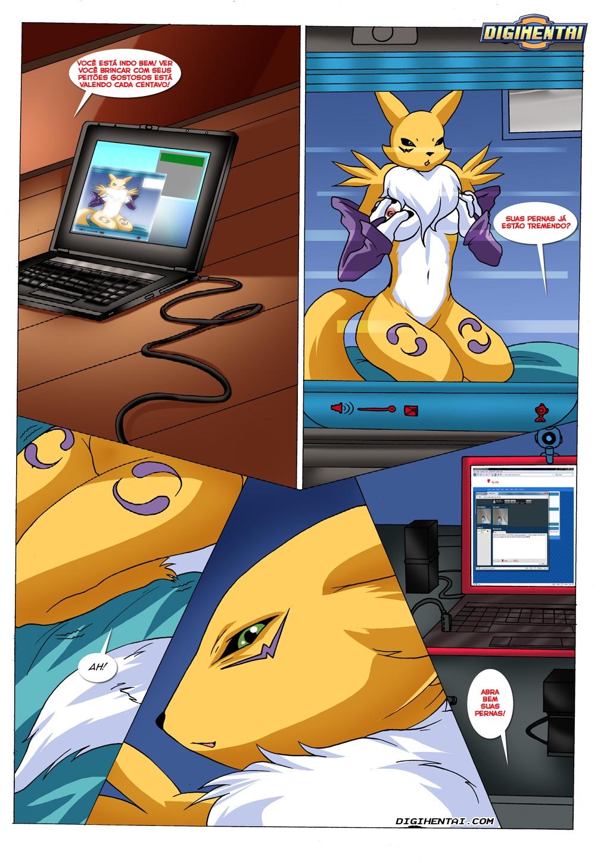 Digimon Hentai O Blog Da Renamon
