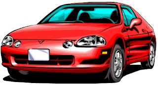 Clip Art: a flash sports car