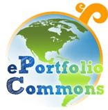 Graphic:  logo of 'ePortfolio Commons'