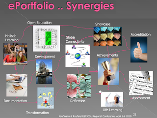 Screenshot from the presentation