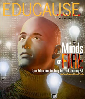 Graphic: Front page of the Educause magazine.