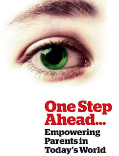Picture: Front cover of eBook - 'One Step Ahead'