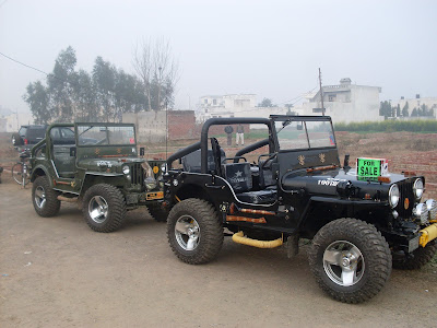 Gorgeous WILLY JEEPS- at Raja Pholriwalia Outlet in Jalandhar