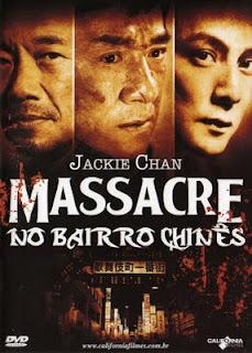 Filme Poster Massacre no Bairro Chinês DVDRip RMVB Dublado
