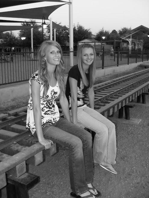 Sarah and I at Spring Break