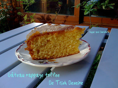 gâteau nappage toffee trish deseine