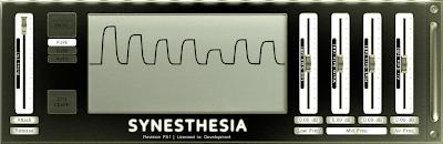 weldroid Synesthesia waveshaper/EQ/dinamika processzor plugin