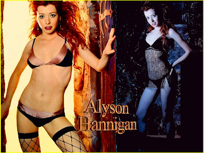 alyson hannigan bio. Alyson Hannigan made her