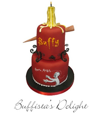 Buffyfest Buffys Birthday Is Usually Bad But This Cake Could - Slayer birthday cake