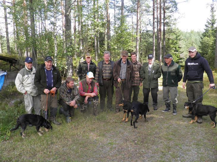 Smålandsstövarföreningen lokal avd skaraborg +några jaktkamrater ifrån kanalen