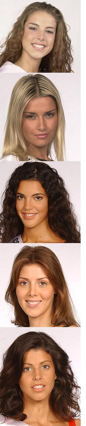 Le partecipanti piu' belle a Miss italia del passato