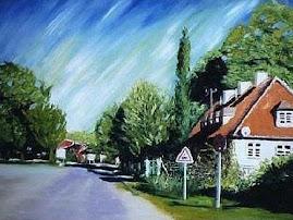 شارع  Hagenweg مدينة غوتنغن الالمانية صيف 2002