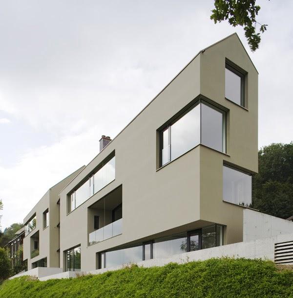 Narrow lot house blog house design for Multi family house plans narrow lot