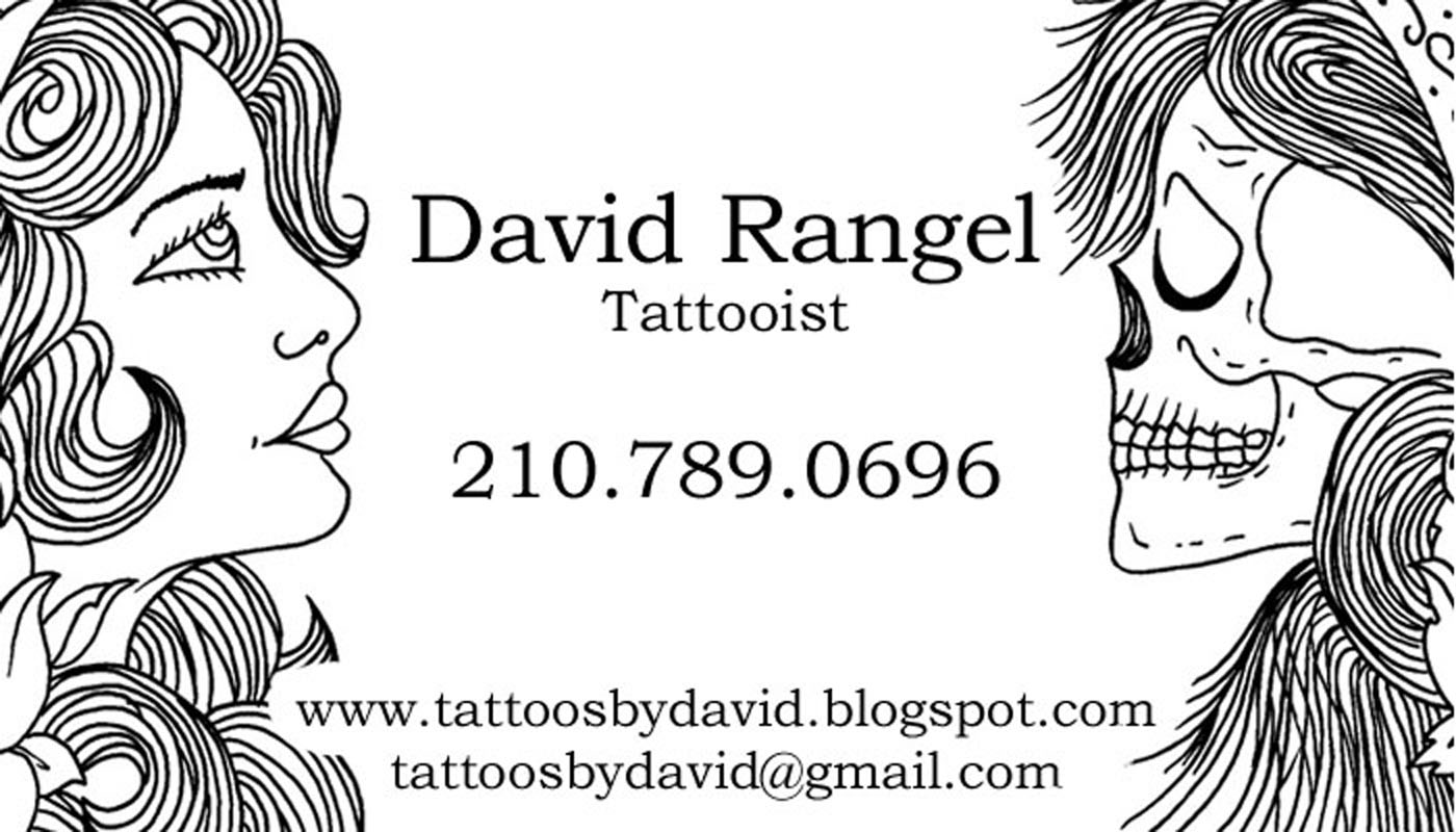 Tattoo Business Cards