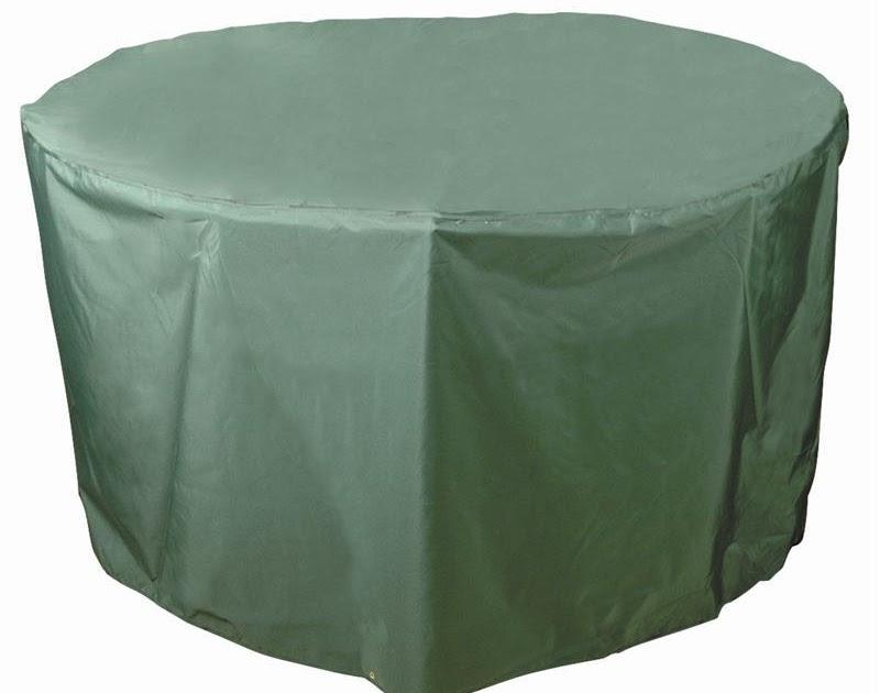 Garden center ejea mobiliario funda mesa redonda 102 cm pvc for Funda piscina redonda
