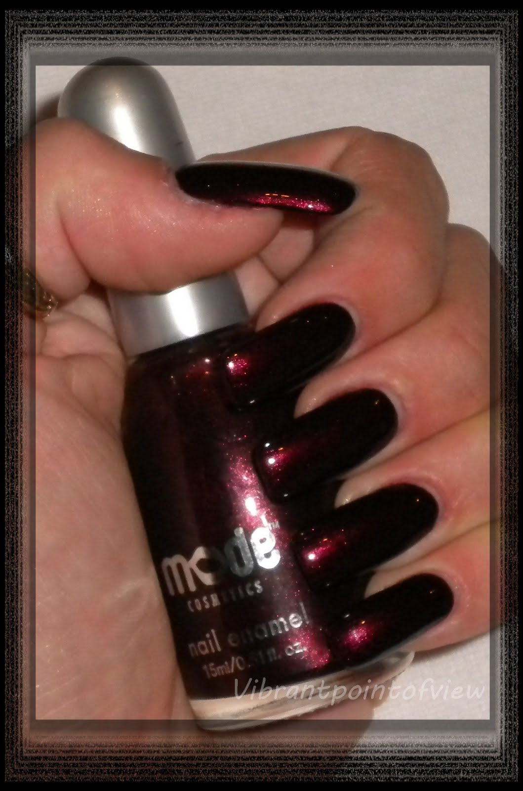 Vibrant Point Of View: Spotlight On: Mode Cosmetics #10604 Juicy Plum