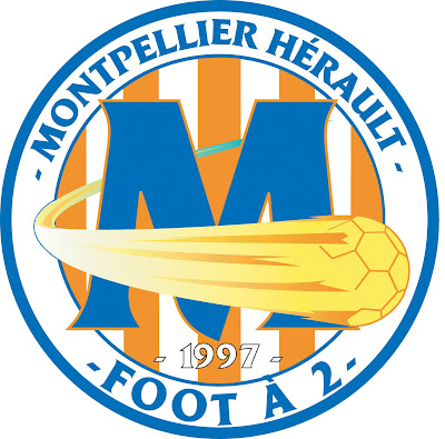 Graphiste club montpellier h rault foot 2 - Logo montpellier foot ...