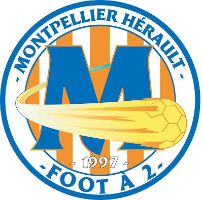 Graphiste club montpellier h rault foot 2 - Logo montpellier foot ...