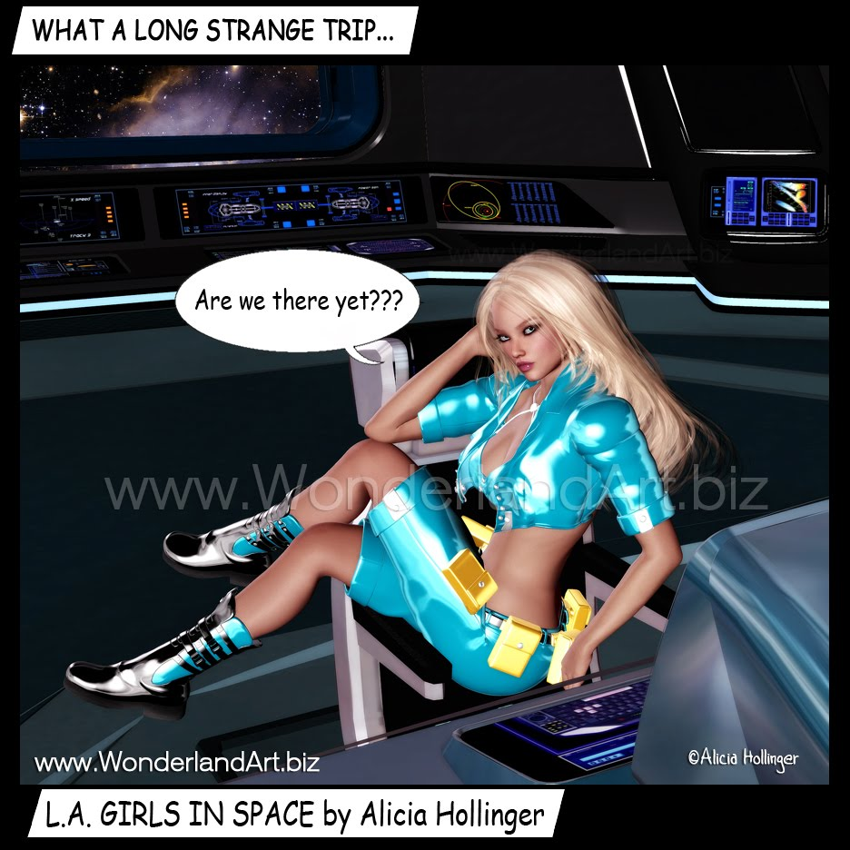 .A. GIRLS IN SPACE: Are We There Yet? by Alicia Hollinger