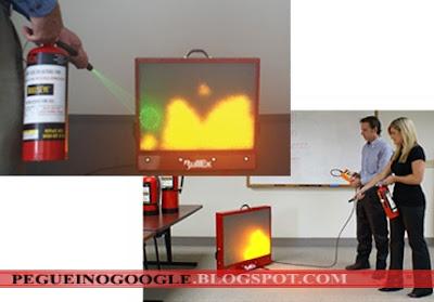 empresa, incendio, equipamento, fogo, artificial, luz, leds, hotshot, bullexsafety,