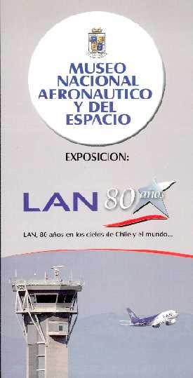 LAN 80 AÑOS - INFORMATIVO