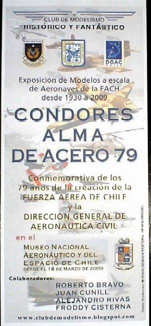 CÓNDORES ALMA DE ACERO 79 AÑOS FUERZA AÉREA