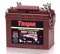 The Trojan Deep Cycle Lead-Acid Battery I Installed