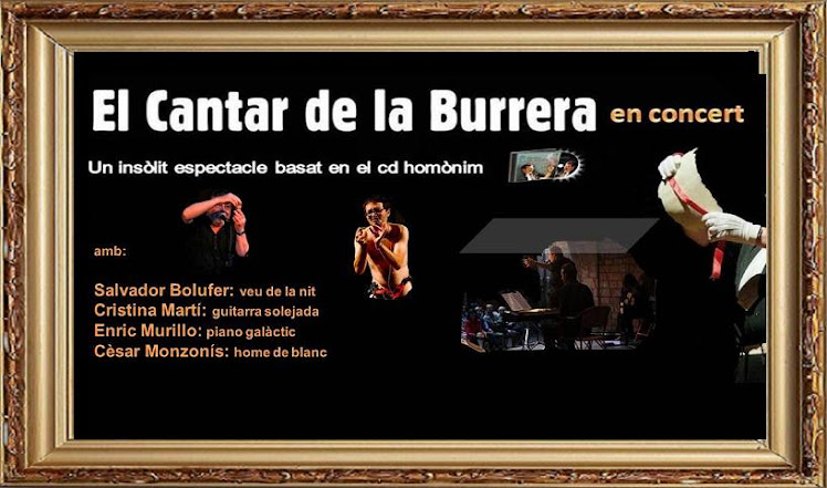 EL CANTAR DE LA BURRERA