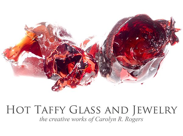 Hot Taffy Glass and Jewelry