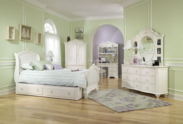 Furniture For Childrens Rooms Cottage Style Bedrooms Decorating Ideas Via