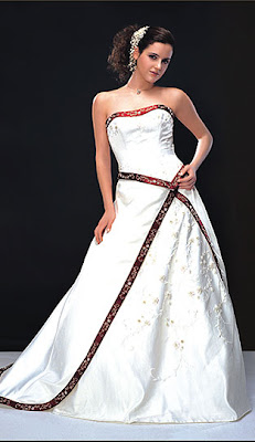 sridal gown