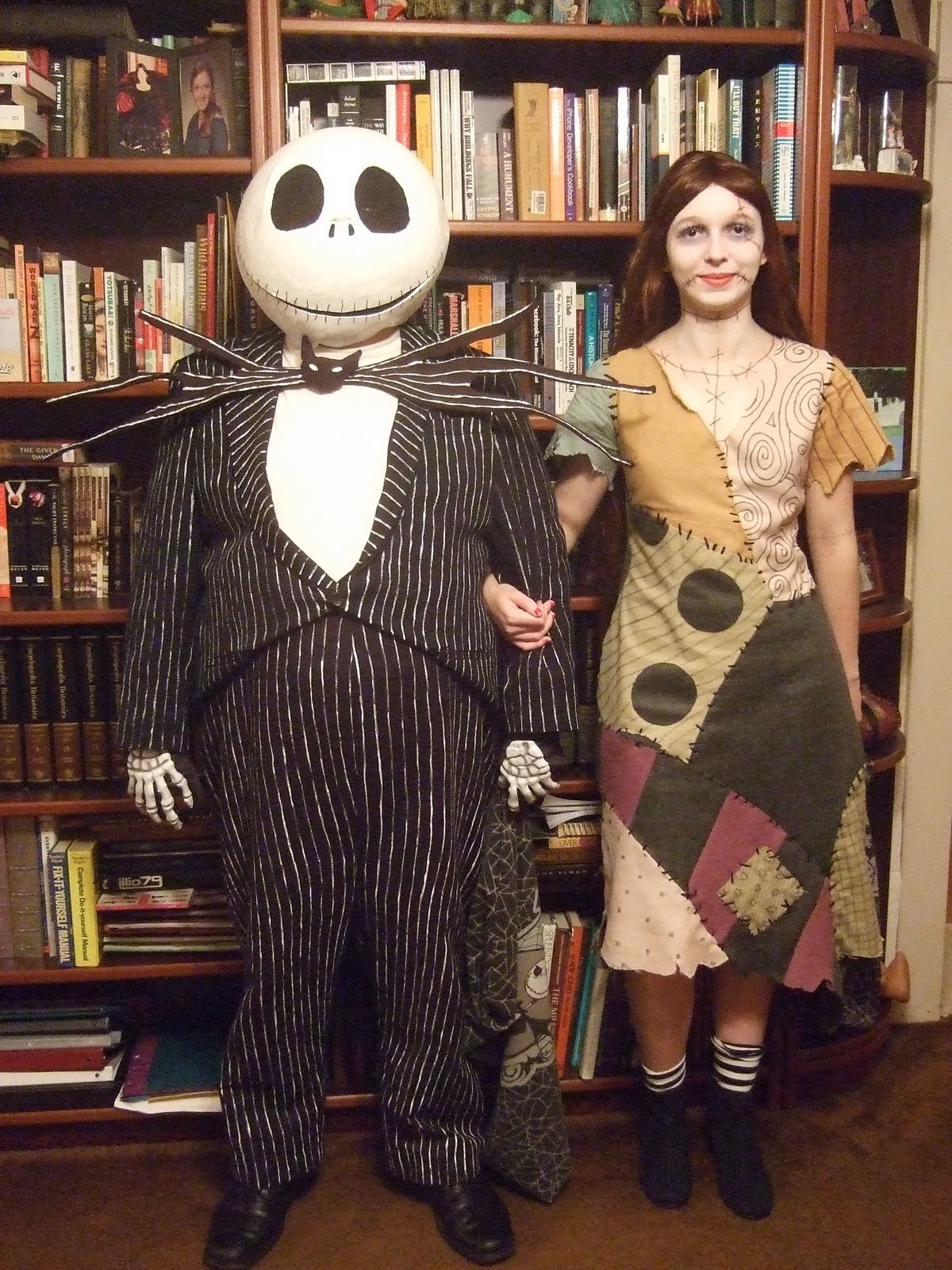 Laurie\'s Costumes: 2010 Cosplay: Jack and Sally The Nightmare Before ...