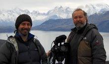 Rodando en Torres del Paine (Chile)