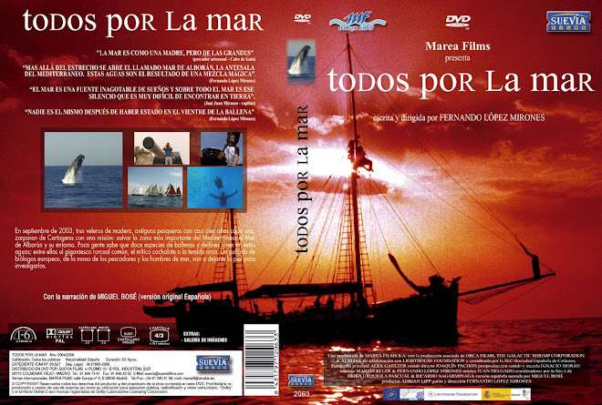 CARTULA DVD Todos por la Mar