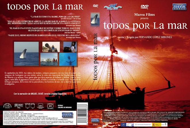 CARÁTULA DVD Todos por la Mar