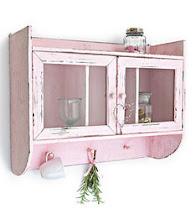 El color rosado en este mueble le aporta el toque romantico...