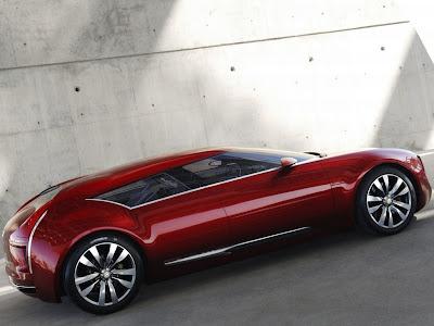 Carro conceito da Citroen o C-METISSE.