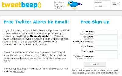 TweetBeep - Barcelona SEO Blog